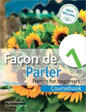 Facon de Parler 1 Coursebook 5th Edition:  French for Beginners