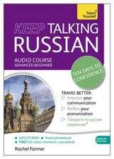 KEEP TALKING RUSSIAN -W/BOOK M
