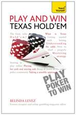 Play and Win Texas Hold 'em:  With the Michel Thomas Method