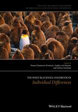The Wiley–Blackwell Handbook of Individual Differences