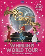 Whirling World Tour Sticker Book