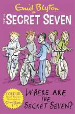 Where Are the Secret Seven?:  The Speed of Darkness