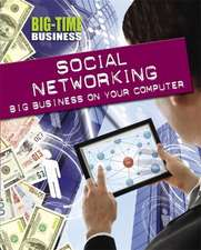 Big-Time Business: Social Networking: Big Business on Your Computer