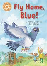 READING CHAMPION FLY HOME BLUE