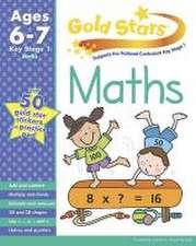 Gold Stars KS1 Maths Workbook Age 6-8