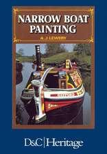 Narrow Boat Painting