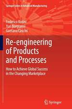 Re-engineering of Products and Processes: How to Achieve Global Success in the Changing Marketplace