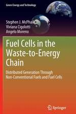 Fuel Cells in the Waste-to-Energy Chain: Distributed Generation Through Non-Conventional Fuels and Fuel Cells