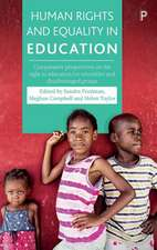 Human Rights and Equality in Education: Comparative Perspectives on the Right to Education for Minorities and Disadvantaged Groups