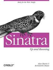 Sinatra – Up and Running