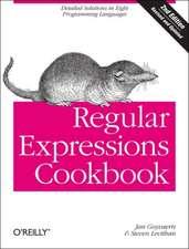 Regular Expressions Cookbook 2e
