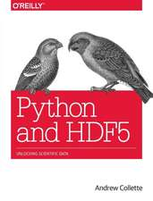 Python and HDF5