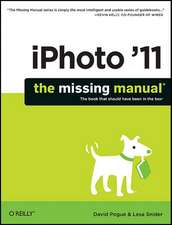 iPhoto ′11: The Missing Manual