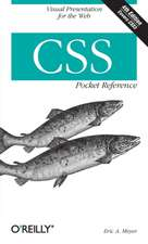 CSS Pocket Reference 4e