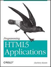 Programming HTML5 Applications
