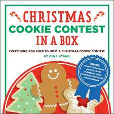 Christmas Cookie Contest in a Box:  Everything You Need to Host a Christmas Cookie Contest [With 12 Numbered Place Cards/6 Scorecards and 5 Judge Badge