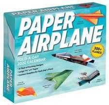 Paper Airplane Fold-a-Day - Papierflieger-Faltvorlage für jeden Tag 2020