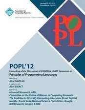 Popl 12 Proceedings of the 39th Annual ACM Sigplan-Sigact Symposium on Principles of Programming Languages