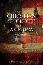 Christian Thought in America