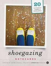 Shoegazing Notecards