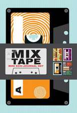 Mix Tape Mini Eco-Journal Set:  20 Different Notecards and Envelopes