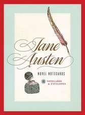 Jane Austen Novel Notecards:  16 Notecards and Envelopes