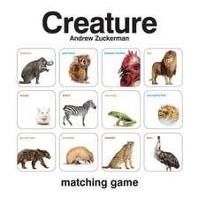 Creature Matching Game