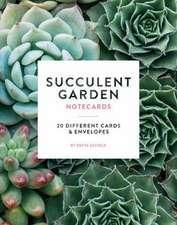 Succulent Garden Notecards