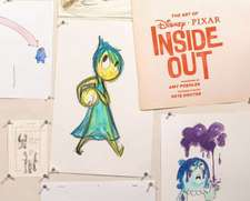 The Art of Disney Pixar Inside Out:  Doodle Your Way Across Europe!
