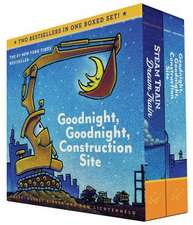 Goodnight, Goodnight, Construction Site and Steam Train, Dream Train Set:  Finger Puppet Book