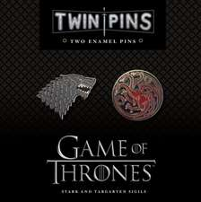 HBO's Game of Thrones Twin Pins