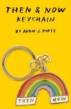 Then & Now Keychain