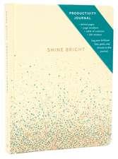 Shine Bright Productivity Journal, Cream
