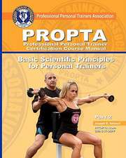 Professional Personal Trainer Certification Course Manual
