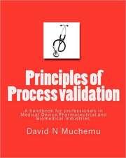 Principles of Process Validation