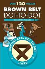 Brown Belt Dot-To-Dot