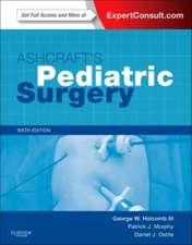 Ashcraft's Pediatric Surgery: Expert Consult - Online + Print