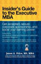 The Executive MBA