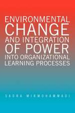 Environmental Change and Integration of Power Into Organizational Learning Processes