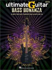 Ultimate Guitar Bass Bonanza: 50 Great Rock Bass Transcriptions in Notes and Tab