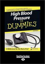 High Blood Pressure for Dummies (Large Print 16pt)