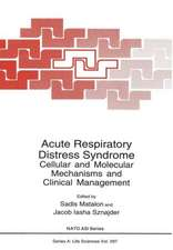 Acute Respiratory Distress Syndrome: Cellular and Molecular Mechanisms and Clinical Management
