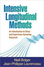 Intensive Longitudinal Methods