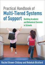 Practical Handbook of Multi-Tiered Systems of Support