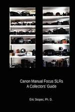 Canon Manual Focus Slrs