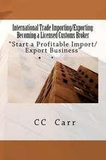 International Trade Importing/Exporting