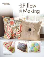 Steward, B: Simple Pillow Making