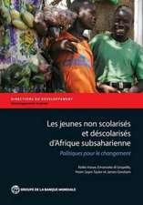 Les Jeunes Non Scolarises D'Afrique Subsaharienne:  Politiques Pour Le Changement