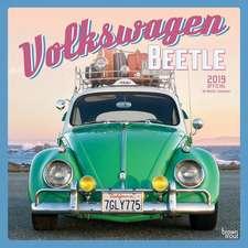 Volkswagen Beetle 2019 Square Wall Calendar