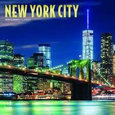 New York City 2019 Square Wall Calendar